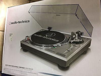 Audio-Technica AT-LP120-USB Direct Drive Professional Turntable w/ USB & ANALOG