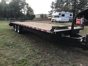 28 ft Highboy trailer, car hauler