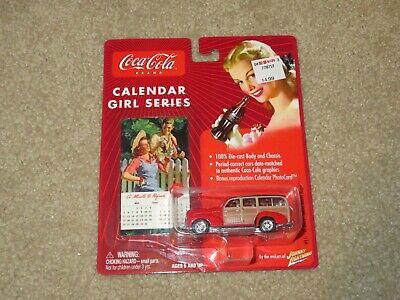 Johnny Lightning Coca-Cola Calendar Girl Series 1941 41 Chev