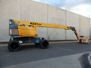 2009 Haulotte H28TJ Boom Lift In CERT !! Bell Park Geelong City Preview
