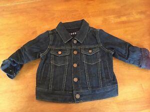 Manteau jeans Gap 12-18 mois comme neuf