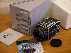 HASSELBLAD 501CM kit w/80mm CFE lens etc BOXED great Cond Brighton-le-sands Rockdale Area Preview