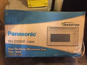 Panasonic microwave/hood fan
