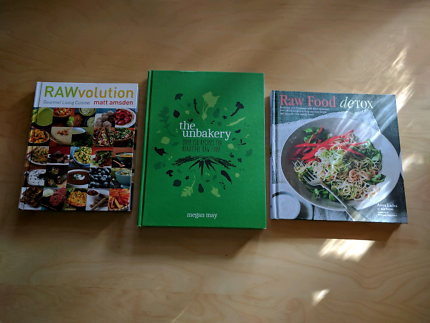 Pete evans family food cookbook nonfiction books gumtree raw food cookbooks x 3 forumfinder Images