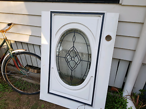Oval leadlight glass pane Joyner Pine Rivers Area Preview