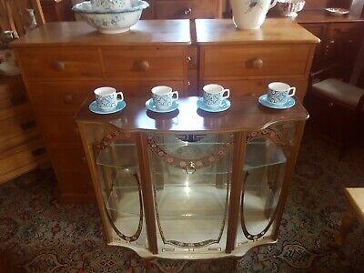 Vintage Retro Glass Display Cabinet 50s/60s
