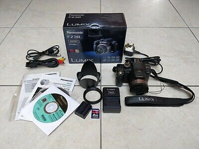 Panasonic LUMIX DMC-FZ38 12.1MP Digital Camera with Hama Case. Boxed & Complete