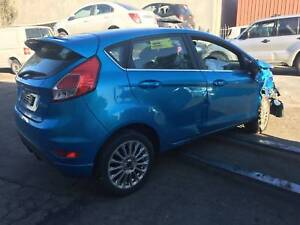 WREAKING 2014 Ford Fiesta auto sport Hatch BLUE COLOUR ALL  PARTS Dandenong South Greater Dandenong Preview