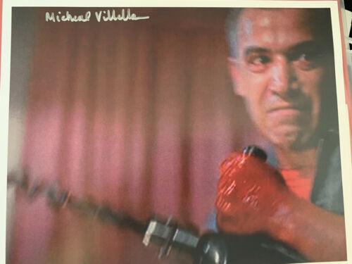 Slumber Party Massacre- Driller Killer Autograph - Michael Villella