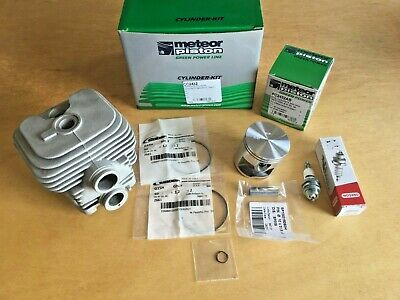 Meteor Nikasil Cylinder Piston Kit For Stihl Ts410 Ts420 Cut Off Saw 50mm Italy