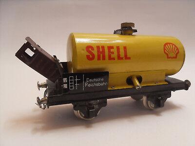 Vagone Shell Cisterna Treno Trenino Modellino Vintage