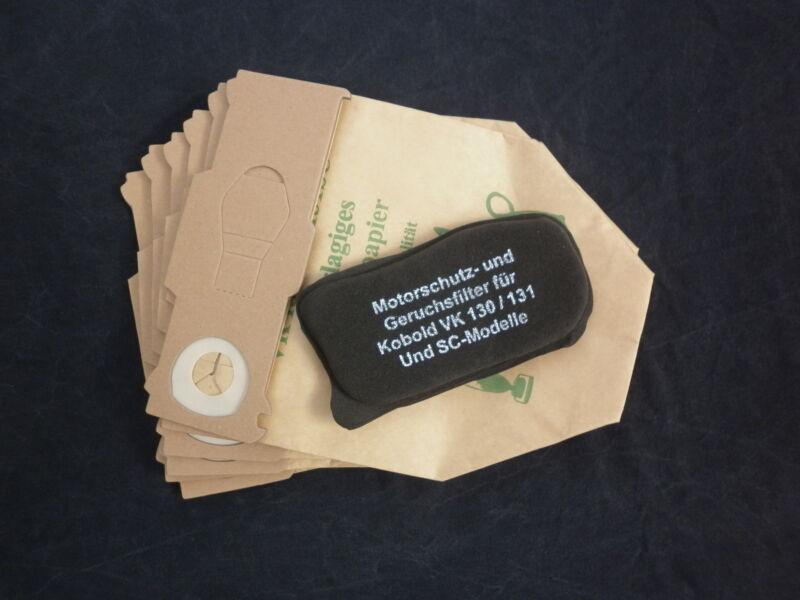 2 x Set Geruchsfilter Hepafilter geeignet VORWERK Kobold 130 131 TOP Qualität