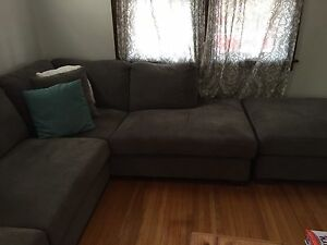 Couch set with ottoman