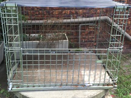 Steel Dog Cage / Crate Deception Bay Caboolture Area Preview
