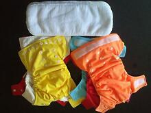 7x Cloth Re-usable Nappies Palmwoods Maroochydore Area Preview