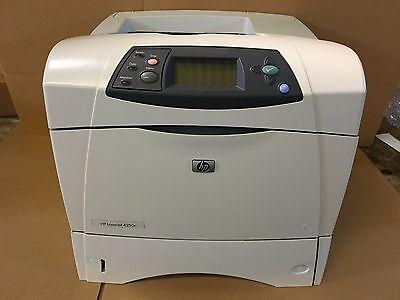 HP LaserJet 4250n Workgroup Laser Printer 30 DAY WARRANTY