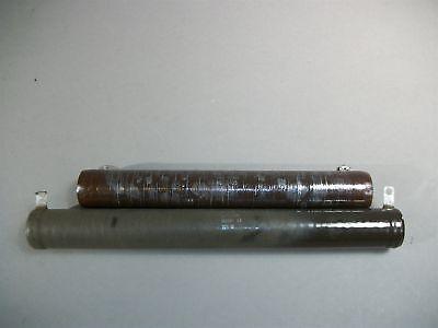 Mixed Lot Of 2 Ohmite 2405 Resistor 175w 100  225w 50k - New