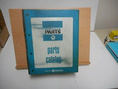 1968 CHRYSLER DODGE  PLYMOUTH CAR PARTS BOOK CATALOG FACTORY DEALER MANUAL MOPAR