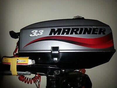 Mariner 2 Stroke 3.3hp Short Shaft Outboard Engine
