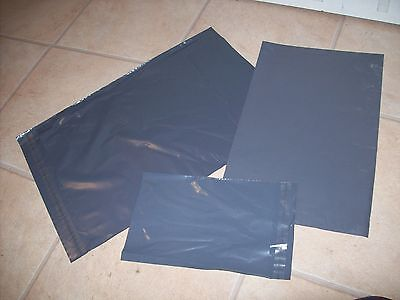 10 Mailing Bags 5 Large 12 x 16 & 5 XL 13 x 19. Strong Packaging - Grey