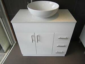 Clearance Special Sales- Stone Top  Vanity (750mm) ONLY $419 Bentley Canning Area Preview