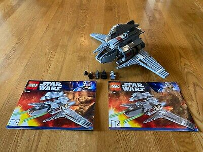 Lego Star Wars 8096 Emperor Palpatine's Shuttle 100% Complete EUC All Minifigs!
