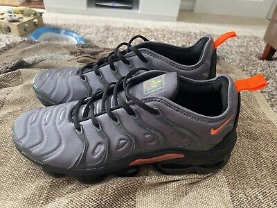 Nike Air VaporMax Plus VM Grey/Orange - Mens Size 10