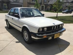 1986 BMW 325e E30 Manual, Clean title