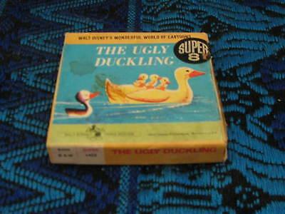 Vintage Walt Disney The Ugly Duckling Super 8mm Movie