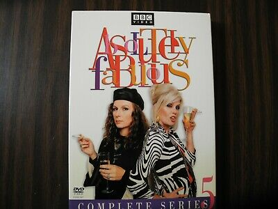 Absolutely Fabulous Series 5 (DVD, 2-discs, 2004)