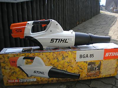 STIHL Akku Blasgerät BGA 85, Laubbläser, ohne Akku und Ladegerät NEU 48530115900