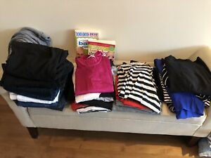 Maternity clothes , baby books