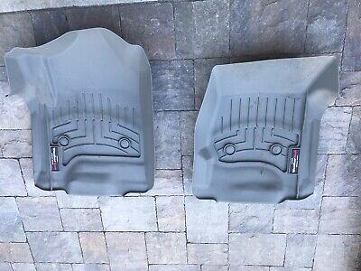 WeatherTech 2015+ Cadillac Escalade Silverado Front FloorLiner mats Grey 466071