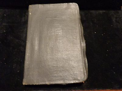 Vintage July 1933 Prudential Insurance Memorandum Rate Book & Instructions