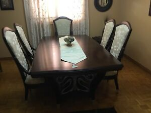 Beautiful and Unique Dining Table Set. Selling for $2900.00