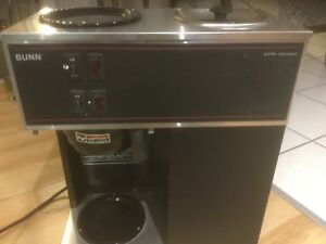 Bunn commercial 2 pot coffee maker