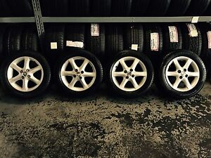 TOYOTA COROLLA CONQUEST 15 INCH GENUINE ALLOY WHEELS WITH 4 TYRES Summer Hill Ashfield Area Preview