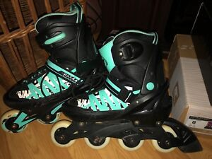 Youth rollerblades EUC size 9-11