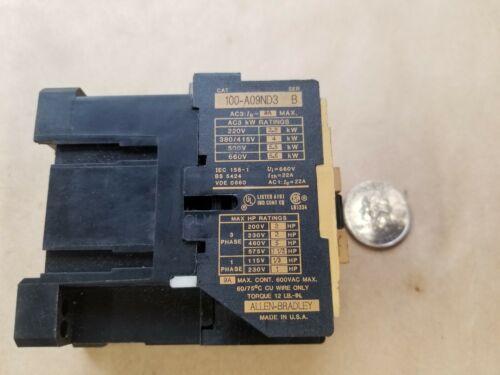 A-B/Allen-Bradley 100-A09ND3 Contactor