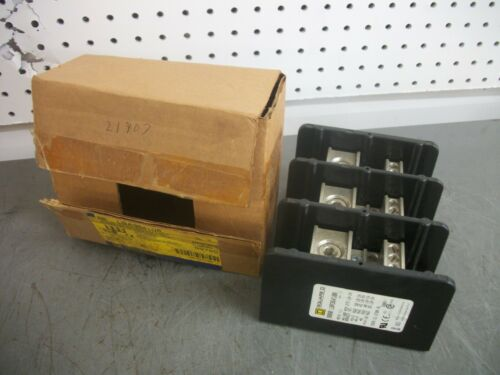SQUARE D POWER DISTRIBUTION BLOCK LBA364108 335AMP MAIN #6-400MCM BRANCH #14-#2