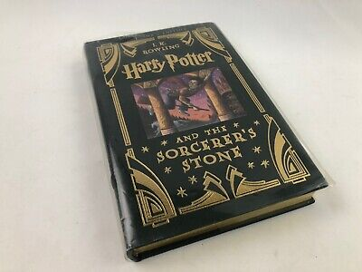 Harry Potter Sorcerer's Stone J.K. Rowling, Collectors Limited Edition Leather
