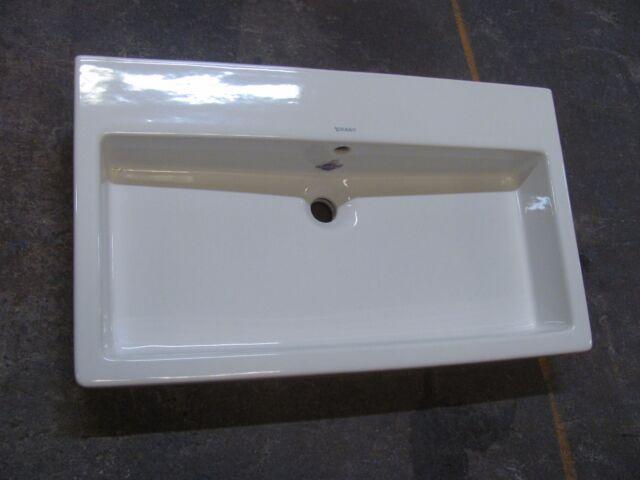 Duravit 04548000001 Vero Above Counter Bathroom Sink Washbasin W Overflow