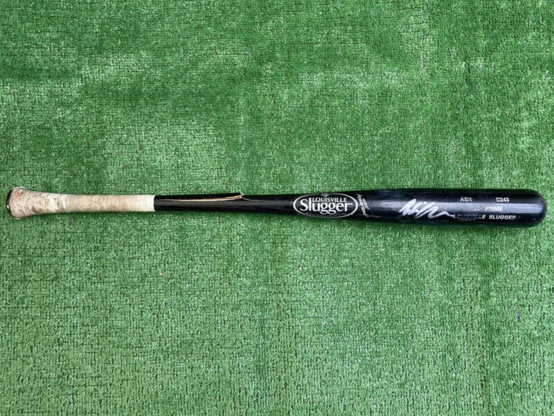 San Diego Padres Wil Myers Autographed Game Used Baseball Bat
