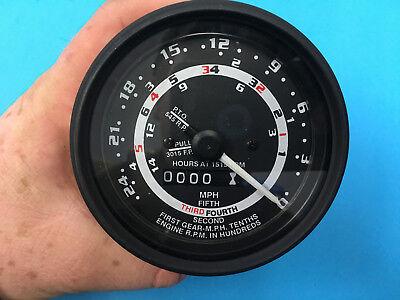 Ford Tractor 5 Five Speed Tachometer Gauge 600 601 701 800 801 900 C3nn17360k
