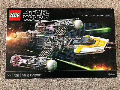 Lego 75181 Star Wars Y-Wing Star fighter BRAND NEW UNOPENED Retired Set