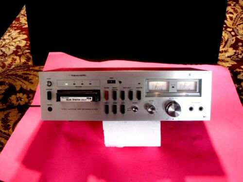 8 TRACK PLAYER REALISTIC TR-803 VERY CLEAN WORKS PERFECT