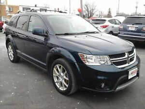 2014 DODGE JOURNEY LIMITED- HEATED FRONT SEATS, REMOTE STARTER,