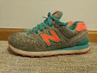 New balance 574 grey and green size 9