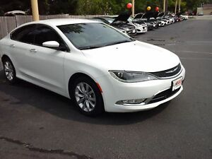 2015 CHRYSLER 200 C - NAVIGATION, LEATHER HEATED & COOLED MEMORY