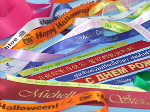Home Based Business Printing & Supplying Personalised Ribbons Opportunity info